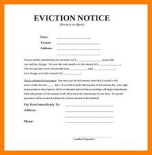 How To Write A Eviction Letter Rome Fontanacountryinn Com