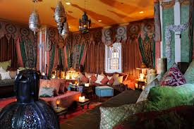 Country Home Designs: Amazing Moroccan Room Design Living Room Various  Pillow, Moroccan Puffs,