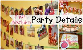 First Birthday Party Decor Ideas For Girls  YouTube1st Birthday Party Ideas Diy