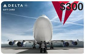delta airlines gift card united