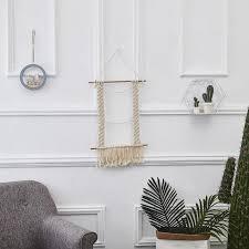 art macrame woven bohemian wall hanging tapestry boho chic tassel home decor hot