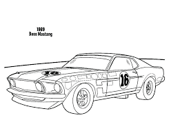 mustang coloring page boss car pages best place to color old printable mustang coloring pages