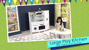 Play Kitchen With Lights And Sounds Kidkraft Large Play Kitchen With Lights And Sounds