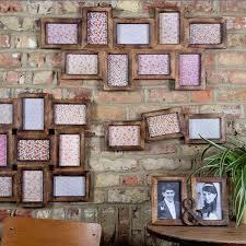 multiple picture frames wood. Nine Multi Photo Frame Dark Wood Effect Alternative Image 1. Multiple Picture Frames A
