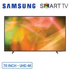 Smart Tivi Samsung 4K 70 inch UA70AU8100 Chính Hãng, Giá Rẻ Nhất
