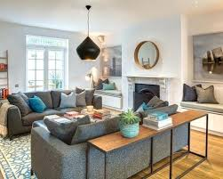 sofa table in living room. Modren Living Console Table Behind Sofa Inspiration For A Transitional Medium Tone Wood  Floor Living Room Remodel In With White Walls Storage  Throughout C