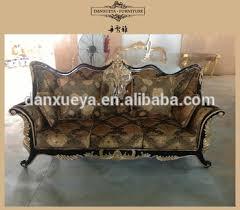 arabic living room furniture sofa indian carved wood furniture royal luxury sofa
