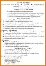 resume skills and abilities examples 8 resume skill and abilities