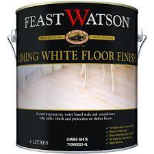 Feast Watson 4l Satin Liming White Floor Finish Bunnings