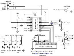 digital timer switch circuit diagram digital image timer switch circuit diagram the wiring diagram on digital timer switch circuit diagram