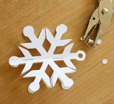How To Make A 3d Snowflake Easy 3d Snowflake Ornaments