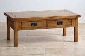 4 drawer coffee table original rustic 4 drawer coffee table in solid oak cancun 4 drawer