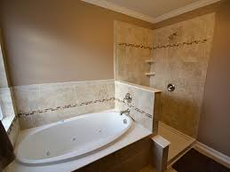 large tub shower remodel