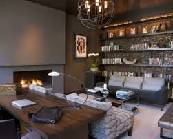 manly office decor. delighful office stylish and dramatic masculine home offices intended manly office decor i