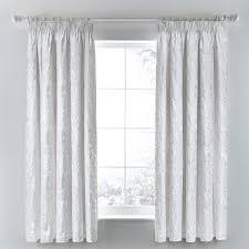 flora white curtains