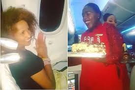 Image result for eric omondi birthday on plane