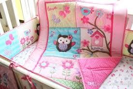 owl toddler bedding set dressers glamorous owl baby crib set bedding embroidery glamorous owl baby