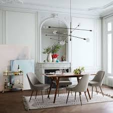 MidCentury Expandable Dining Table West Elm Gorgeous Modern Contemporary Dining Room Furniture
