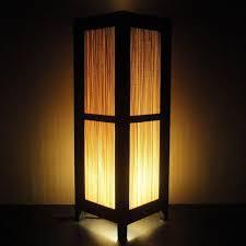 oriental lighting. Lighting:Oriental Lamp Shade Oriental Outstanding Tall Asian Japanese Bamboo Art Decor Bedside Lighting