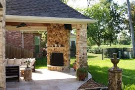 covered patio designs with fireplace. Popular Covered Patio Corner Fireplaces Ideas | Creative Design With Fireplace Designs D