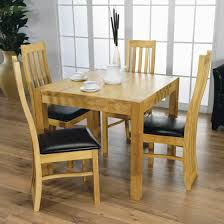 Rubberwood Kitchen Table Wellington Rubberwood 90cm Dining Table Quarter Solid Wood