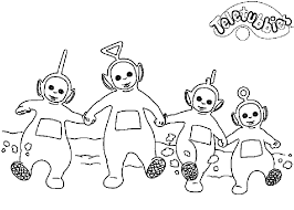 Small Picture Coloring Page Teletubbies coloring pages 23