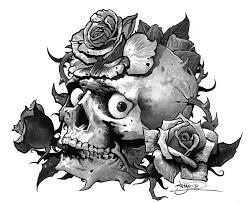 Motiv Tetování Lebky Atd 1388