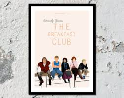 breakfast club the breakfast club high quality film print a5 a4 a3