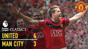 Manchester United 4-3 Manchester City (09/10) | Premier League ...