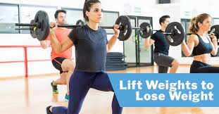 lift weights to lose weight issa