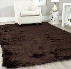 photo 6 of 7 com safavieh paris collection sg511 2727 chocolate polyester area rug