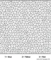 Challenging Coloring Pages Challenging Color By Number Free Mandala