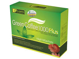 leptin green coffee 1000 plus 12 units