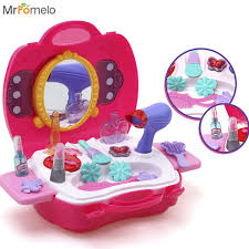 makeup kits for little girls. mrpomelo makeup for girls pretend play dress-up make up toy kit best gift set kits little