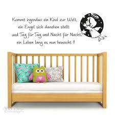 Wandaufkleber Engel Spruch Reim Wandtattoo Kinderzimmer