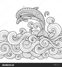 Dolphin Coloring Pages For Adults Futuramame