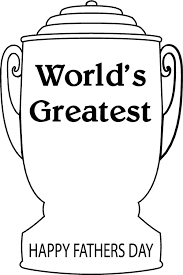 worlds greatest trophy father day coloring pages