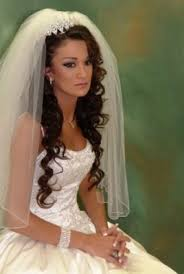Marvelous Wedding Hairstyles For Medium Length Hair With Tiara And