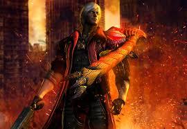wallpaper devil may cry man fire monsters dante lucifer dante games 3d graphics