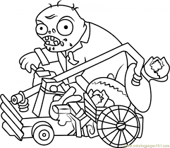 Get This Plants Vs. Zombies Coloring Pages to Print Online u9562 !