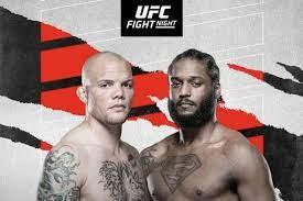 Latest UFC Vegas 37 fight card, ESPN+ ...
