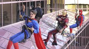 Superman, Batman, Spiderman, Iron Man cheering up SA kids | The Advertiser