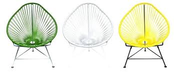 woven metal furniture. Metal Frame Outdoor Furniture Inspired By The Woven Designs Of Hammocks An Chair Is Made . S