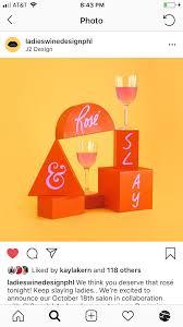 Freelance Sign Designer Ladies Wine Design Philadelphia Ashley Huhe