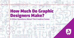 Visual Graphic Designer Salary How Much Do Graphic Designers Make And Other Questions