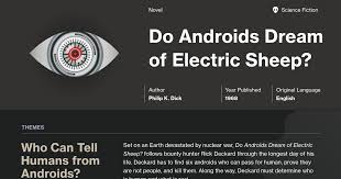 Do Androids Dream Of Electric Sheep Quotes Best of Do Androids Dream Of Electric Sheep Quotes Course Hero