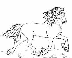 Fries Paard Kleurplaat Kleurplaten Fries Paard Paard Tekeningen