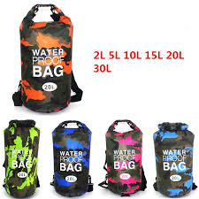 2L/5L/<b>10L</b>/<b>15L</b>/<b>20L</b>/<b>30L</b> Outdoor Waterproof bag Dry Bag travelling ...