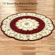 5 ft round area rugs 6 foot rug s red