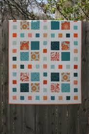 Best 25+ Charm pack quilts ideas on Pinterest | Charm pack quilt ... & A Little Bit Biased - Square Dance Simple quilt pattern - love the colors!  - - - like the idea of the little squares in the wide sashing in  coordinating ... Adamdwight.com
